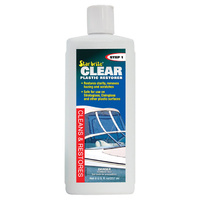 Star Brite Clear Plastic Restorer - Step 1