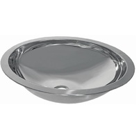 Stainless Steel Sink - Oval