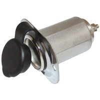 Power Socket Stainless Steel 12V