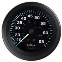 Speedo 10 - 65 MPH (& 104kph) Black