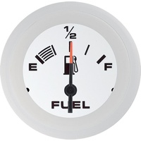 Fuel Level Gauge White