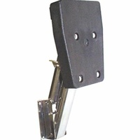 Stainless Steel Outboard Bracket - Spring Loaded
