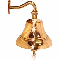 Polished Bronze Bell