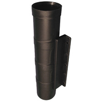 Black Surface Mount Rod Holder