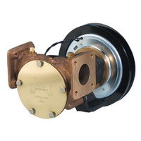 "Electric Clutch Pump 2"" Flanged 24v 1B Pulley"