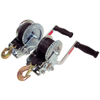 Manual Trailer Winch With Webbing 4:1