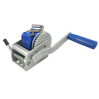 5:1 Manual Trailer Winch With Synthetic Strap