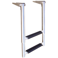 Telescopic 2 or 3 Step Stainless Ladders